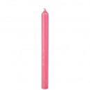 Bar candle through colored, height 240mm